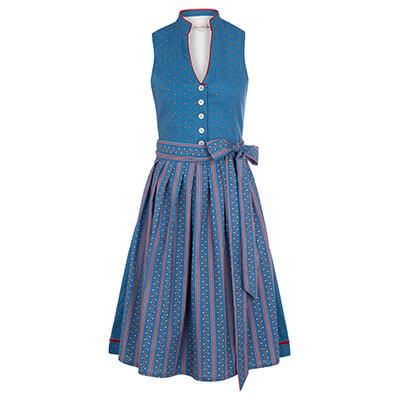 Shop the Look Marietta - Dirndl Marietta in blau