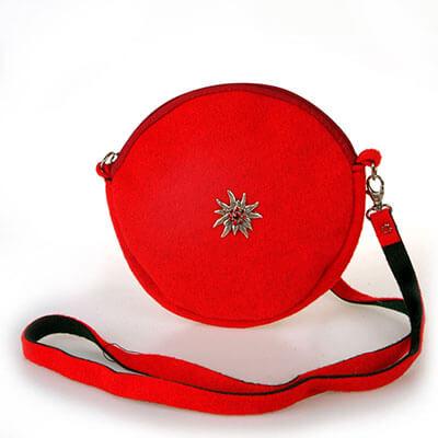 STL Marietta rot - Handtasche