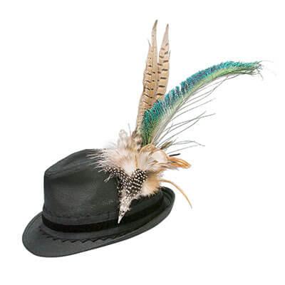Look Paloma - Trachtenhut mit Pfauenfeder