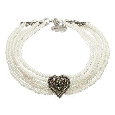 STL Sarah taupe - Perlen-Kropfkette
