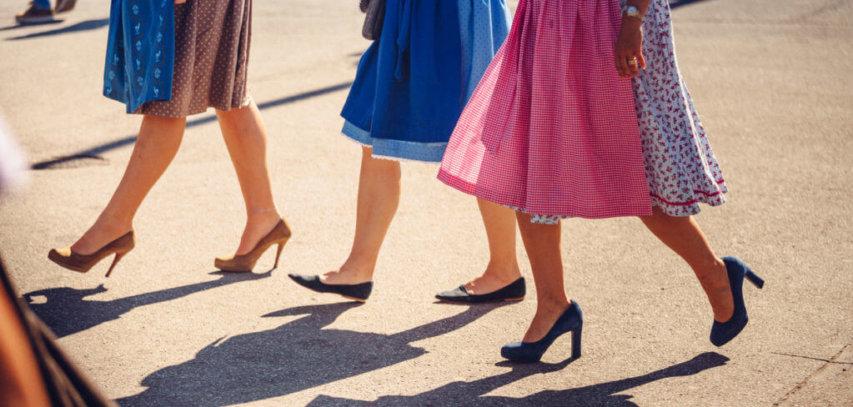 Styleguide: Welcher Schuh passt zum Dirndl? stilettos