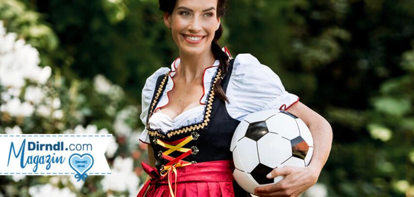 Entdecke unsere ausgefallenen Fußball Dirndl!